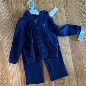 Polo Ralph Lauren Sweatshirt set 24 months